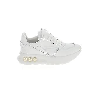 Nicholas Kirkwood 903a43vls4w01 Women-apos;s White Leather Sneakers