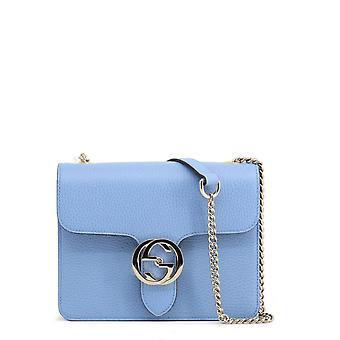 Gucci alkuperäinen naiset ympäri vuoden crossbody laukku - sininen väri 39112