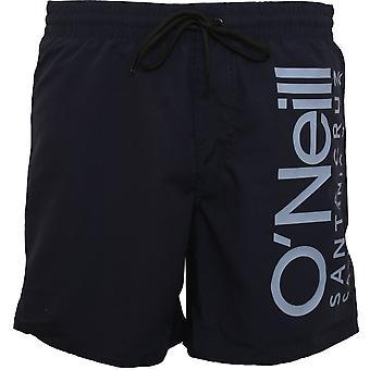 O'Neill Cali Retro Logo Swim Shorts, Scale Blue