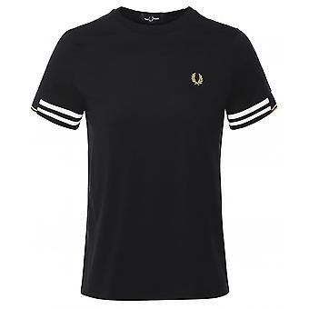 Fred Perry Abstract Cuff T-Shirt M8529 102