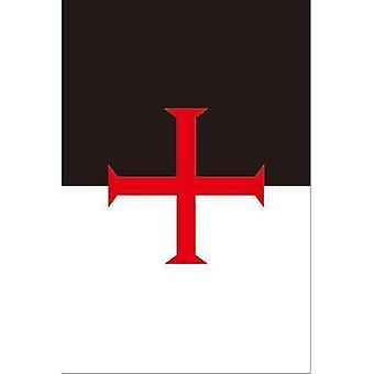 Ritter Templer Freimaurer Flagge