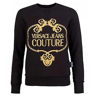 Versace Jeans Couture Embroidered Logo Sweat