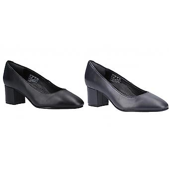 Hush Puppies Ladies/Womens Anna Leather Court Shoe