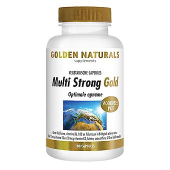 Golden Naturals Multi Strong Gold (180 vegetarian capsules)