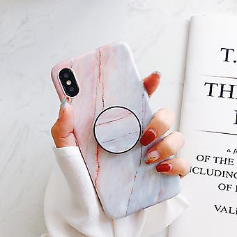 Marble case with phone holder - iPhone XS!