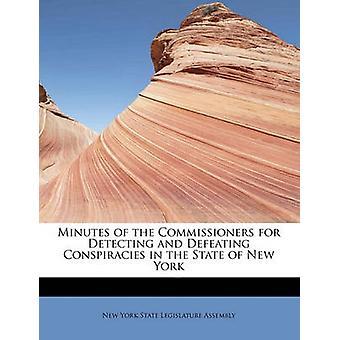 Minutter fra kommissærene for å oppdage og beseire konspirasjoner i delstaten New York av York State Legislature Assembly & New