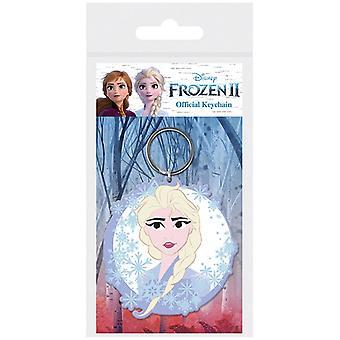 Frossen frost 2 Elsa gummi nøglering