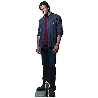 Sam Winchester Red T-Shirt from Supernatural Official Lifesize Cardboard Cutout / Standee