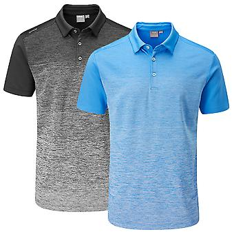 Ping Collection Mens Gradient Golf Polo Shirt