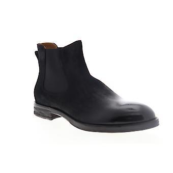 Robert Wayne Federico  Mens Black Suede Chelsea Boots Shoes