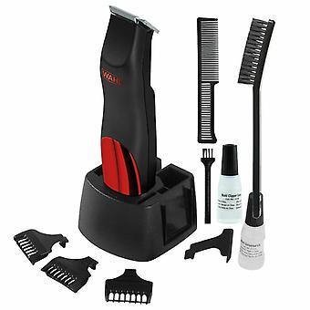 Wahl 9906-4017 عثرة منع بطارية لاسلكية تعمل اللحية الشعر التشذيب