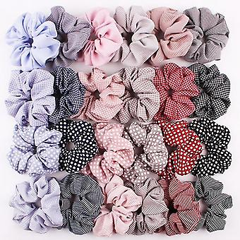 24st hair Scrunchies, hårsnoddar , hårband, Hair band Rockabilly