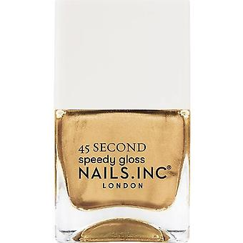 Nails inc 45 Second Speedy Gloss Nail Polish Collection - Show Up In Shoreditch 14ml