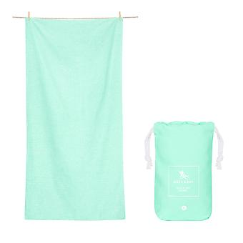 Dock & bay quick dry towel - eco - rainforest green