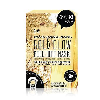 Facial Mask Guld Glow Peel Off Oh K! (80 g)