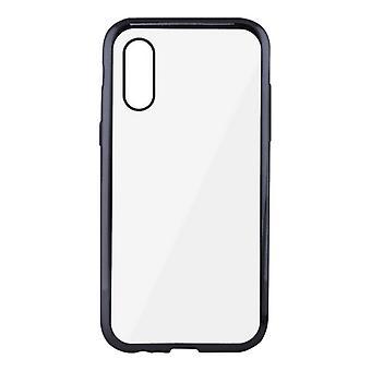 Mobile kansi Iphone Xs Max KSIX Flex Metal läpinäkyvä