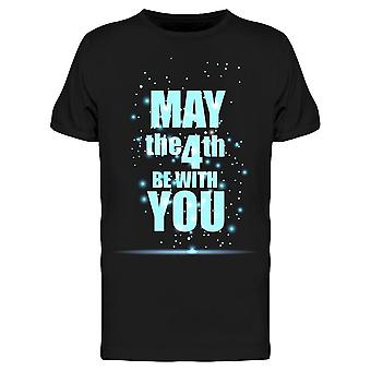 May The 4Th On The Center Tee Men's -Image by Shutterstock Men's T-shirt
