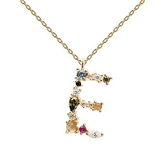 Pdpaola Women's Letter E Plated Necklace