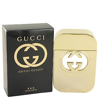 Gucci skyldig Eau Eau De Toilette Spray av Gucci 2,5 oz Eau De Toilette Spray