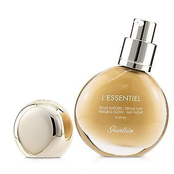 L'essentiel natural glow foundation 16 h wear spf 20   # 04 w medium warm 30ml/1oz