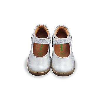 Froddo silver mary-jane shoes