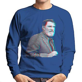 Burt Lancaster 1973 3D Effect Men's Sweatshirt