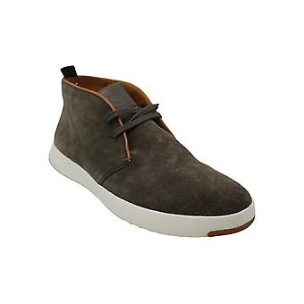 Cole Haan Mens Grandpro Chukka Suede Open Toe Ankle Fashion Boots