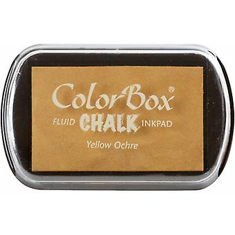 Clearsnap ColorBox Chalk Ink Full Size Yellow Ocre