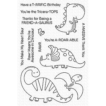 Mijn favoriete dingen A-roar-able Vrienden Clear Stamps