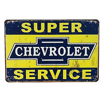 Vintage Gasoline, Motor Oil, Garage Service Wall Decor Metal Tin Signs