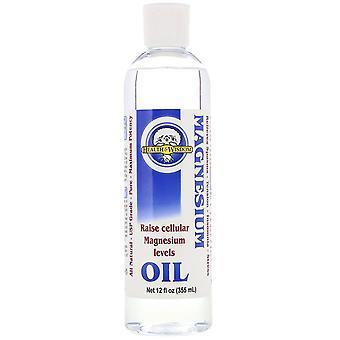 Health and Wisdom, Magnesium Oil, 12 fl oz (355 ml)