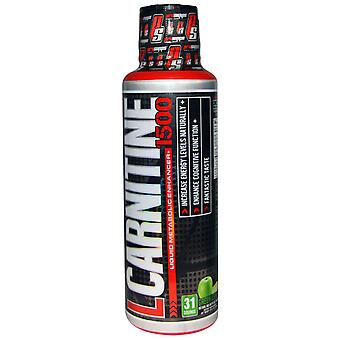 ProSupps, L-Carnitine 1500, Groene Appel, 1.500 mg, 16 fl oz (473 ml)