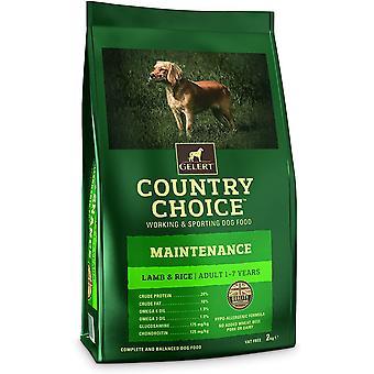 Gelert Country Choice Wartung Lamm & Reis - 12kg