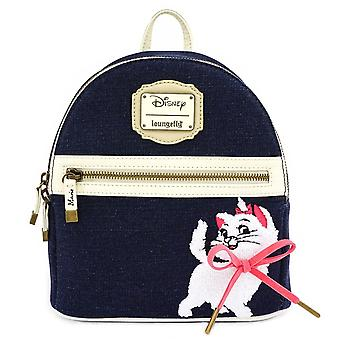 Loungefly Disney Aristocats Marie Denim Mini Backpack