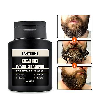 Vitamina Essence Deep Cleansing Nutriting Men's Beard Shampoo, Cleanser