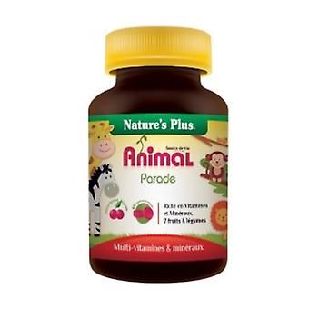 Child Animal Parade Cherry 60 chewable tablets (Cherry)