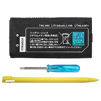 840mah Rechargeable Lithium-ion Battery With Mini Screwdriver And Touch Stylus