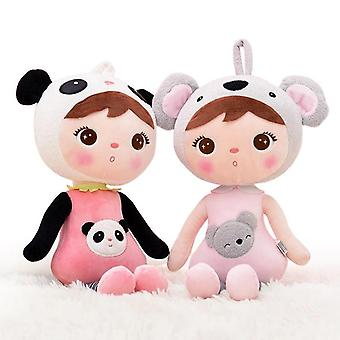 Metoo Doll 45cm Kawaii Stuffed Plush Animals Cartoon Kids Toys For Girls Children- Koala Panda Baby