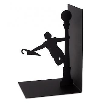 Bookend Singing In The Rain 17 x 27 cm Metall schwarz