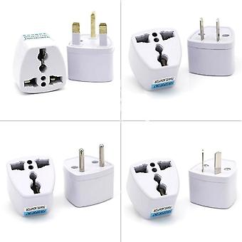 Universal Uk/us/au To Eu Ac Stopcontact Plug - Travel Electrical Charger