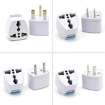Universal Uk/us/au To Eu Ac Power Socket Plug - Chargeur électrique voyage