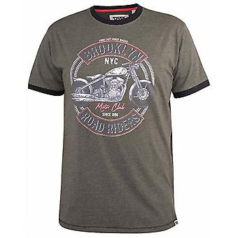 DUKE Duke Motorcycle Print Fashion TShirt