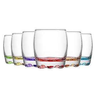 LAV Adora Liqueur Shot Glasögon - 80ml - Flerfärgad - Förpackning med 12