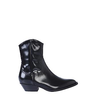 Philosophy By Lorenzo Serafini 320457750555 Women's Black Patent Leather Ankle Boots