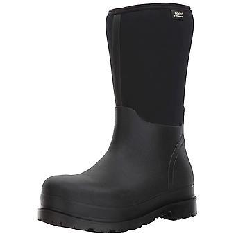 Bogs Men's Stockman Seamless Waterproof Insulated Composite Toe Work Rain Boots