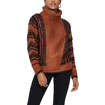 Only Women's Lyla Roll Neck Sweater Regular Fit