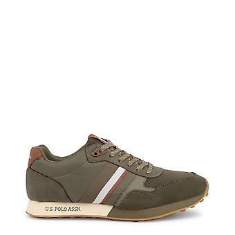 Amerikansk polo assn. 4088s9 women's syntetiske ruskind sneakers