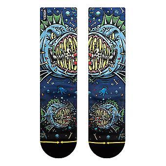 Merge 4 Jimbo Bad Fish Socks - Blue
