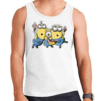 Desprezível Me Minions Party Men's Vest