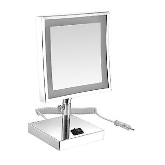 3x LED Lighted Makeup Mirror Plug-in